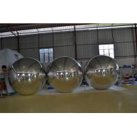 Wholesale Custom Made Inflatable Mirror Ball Balloon PVC Crystal For Sports Games from china suppliers