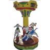 Buy cheap Carousel Horse Kiddie Ride Kiddie Merry Go Round from wholesalers
