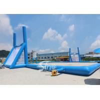 45x30m mobile giant inflatable rugby football field for children N adults from China inflatable manufacturer