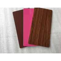 Wholesale PVDF Paint Aluminum Insulated Sandwich Panels, Exterior Building Cladding Panels from china suppliers