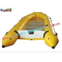 China 0.9MM PVC Tarpaulin Inflatable Kayak Boat use in river, lake for funny, fishing on sale
