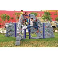Wholesale Amusement park plastic climbing wall for kids from china suppliers