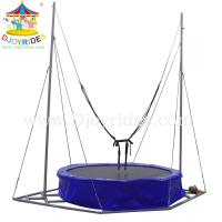 Wholesale Children single bungee jumping trampoline for sale from china suppliers