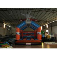 Wholesale Airplane cartoon inflatable bouncer / commercial inflatable bouncer house from china suppliers