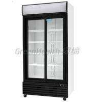 Wholesale LED / T5 Light Commercial Upright Freezer Glass Door With Tecumseh Compressor from china suppliers