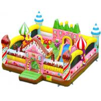Wholesale Candy House Indoor Bouncy Castle Playground Combo Games Commercial Grade from china suppliers