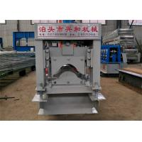 Wholesale Automatic Ridge Cap Roll Forming Machine , Steel Stud Roll Forming Machine  from china suppliers