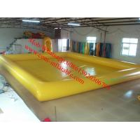 China hard plastic pool balloon swimming pool above ground pool water slide on sale