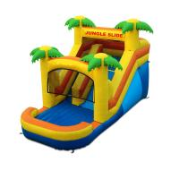 Wholesale Customized Cheap Price Commercial Tropical Type Inflatable Jungle Slide For Kids from china suppliers