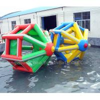 Wholesale Commercial Grade PVC Tarpaulin Inflatable Water Wheel Roller Ball for water park from china suppliers
