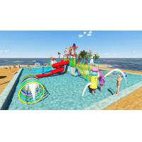Wholesale Commercial Kid Water Park Design Fiberglass Pool Play Water Equipment from china suppliers