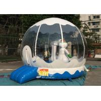Wholesale Outdoor Bounce House Snowman Inflatable Kids Jumping Bouncer for Garden from china suppliers