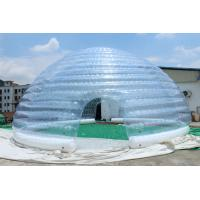 Wholesale 2015 hot sell inflatable white dome tent from china suppliers