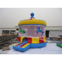 Wholesale carousel bouncy castle , inflatable bouncer castle , sale cheap bouncy castle from china suppliers