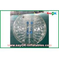 China 1.2m Transparent Inflatable Sports Games Human Inflatable Bumper Bubble Ball for Kids on sale