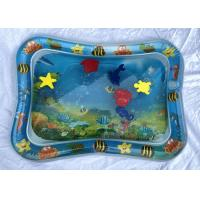 Wholesale Interesting Inflatable Baby Water Mat Toy With Sea Animal /  Two - Chamber from china suppliers