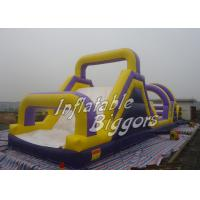 Quality Outdoor Inflatables Maze Playground Game ASTM F963 , Fun Inflatables for sale