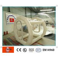 Wholesale 6 Man Waterproof PVC Clear inflatable lawn tent , Giant Outdoor Inflatable Tent for Camping from china suppliers