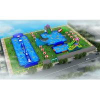 Wholesale Durable Outdoor Inflatable Water Park / Blow Up Water Playground from china suppliers