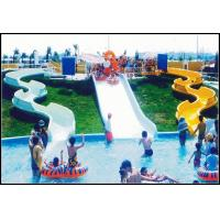 Wholesale 10m Aqua Park Equipment Fiberglass Water Park Slide With 320m³/h Water Flow from china suppliers