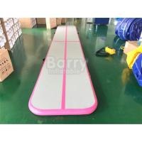 China Inflatable Tumble Track Air Tumbling Mat Home Airtrack Floor Mats Gym Mat For Gymnastics on sale