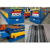Wholesale Aluminum Floor Deck Roll Forming Machine , Shutter Door Roll Forming Machine from china suppliers
