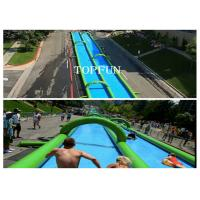 Wholesale 300M Huge Inflatable Water Slide from china suppliers