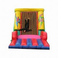 Wholesale Inflatable Velcro Wall, Suitable for Rental Business, Measures 4.5 x 3.5 x 3.5m from china suppliers