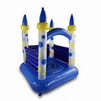 China Inflatable Jumping Castle Toy with 0.35mm PVC Thickness, OEM Orders Accepted on sale