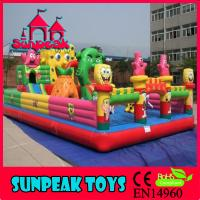 Wholesale PG-055 Kids Inflatable Amusement Park,Amusement Park Inflatable from china suppliers