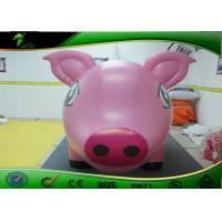 Wholesale Lovely Inflatable Cartoon Characters 3m Long Pink Inflatable Pig For Advertising from china suppliers