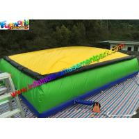 Giant Inflatable Sports Games Jumping Airbag Stunt Jumper Air Pillow For Skiing