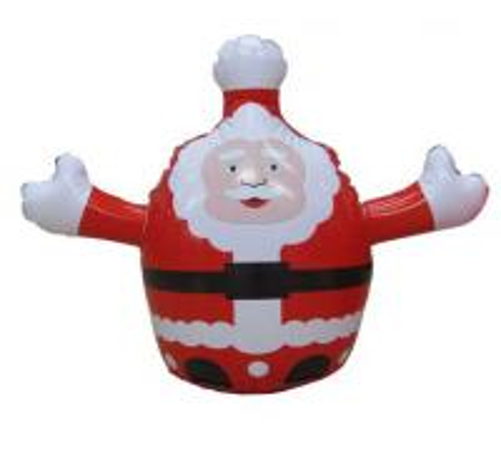 Quality PVC inflatable santa claus for sale