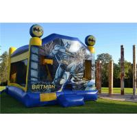 China Tarpaulin Sewing Batman C4 Combo Inflatable Jumping Castle For Backyard Commercial on sale