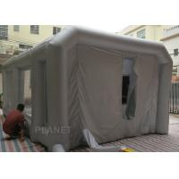 Wholesale Giant Inflatable Spray Booth Car Workstation Logo Printing Easy Assembly from china suppliers