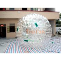 Wholesale Transparent Inflatable Toy-Big Soccer Ball With Durable Plato PVC / TPU from china suppliers