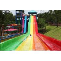 Buy cheap water park constructor fiberglass water slide,Race slide from wholesalers