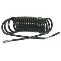 Wholesale Coiled Power Cord  , Curly Electric Cable For Truck Trailer Signal Transmission from china suppliers