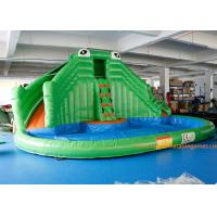 Wholesale PVC Tarpaulin Crocodile Commercial Inflatable Jumpers Slides For Event from china suppliers