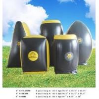 Wholesale 0.9mm PVC Tarpaulin Customed Inflatable Paintball Bunker BUN30  from china suppliers