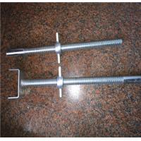 Wholesale Zinc Plated Construction Formwork Accessories Steel Adjustable Scaffolding Screw Jack Base from china suppliers