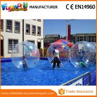 Wholesale Welding Summer Transparent Inflatable Zorb Ball Water Sphere Ball 1 Year Warranty from china suppliers