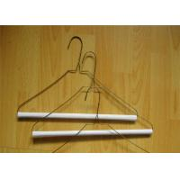 Wire Clothes Hangers Powder Coating Hangers Low Carbon Steel Wire Material