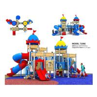 Wholesale High End Residential Areas Childrens Outdoor Slide Plastic Play Structure With Slide from china suppliers
