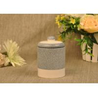 Wholesale Hand Made Ceramic Candle Jar Anti Thermal For Air Refreshment from china suppliers