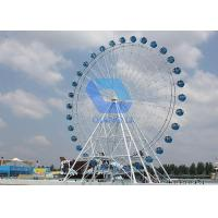 Wholesale 20m Electric Ferris Wheel Ride , Amusement Park Kiddie Major Rides 8min/Circle Speed from china suppliers