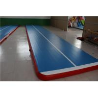 Wholesale Blue 10m Inflatable Air Track With Less Than 5 Minutes Inflatable Time from china suppliers
