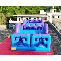 Wholesale Adventure Cross 13.2X4.7X3M Inflatable Obstacle Course from china suppliers