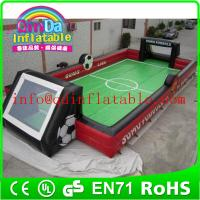 Wholesale Portable inflatable soccer field inflatable football field Inflatable Soccer Arena from china suppliers