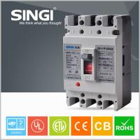 Wholesale 3 / 4 Poles Molded Case Earth Leakage Circuit Breaker 100 Amp 3P MCCB from china suppliers
